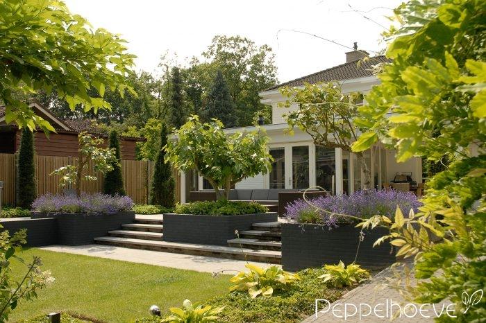 Projecten - Eigentijdse tuinfoto ...